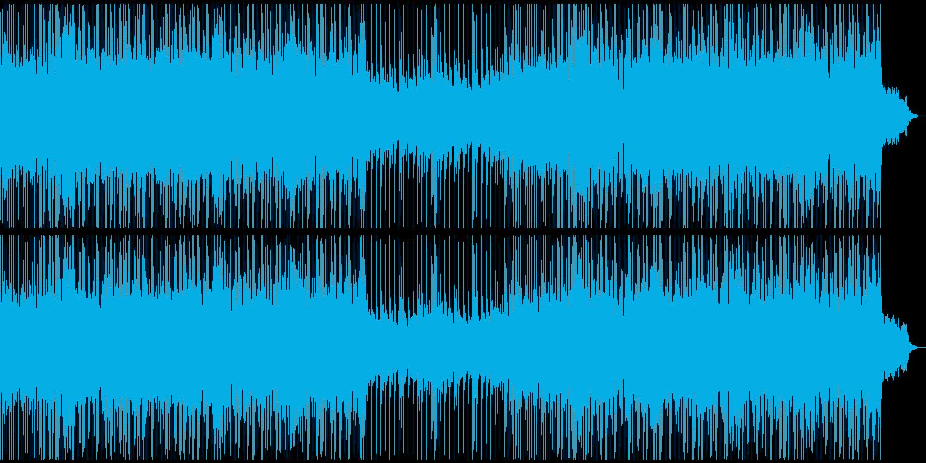 運動会/チップチューン/ゲームBGMの再生済みの波形