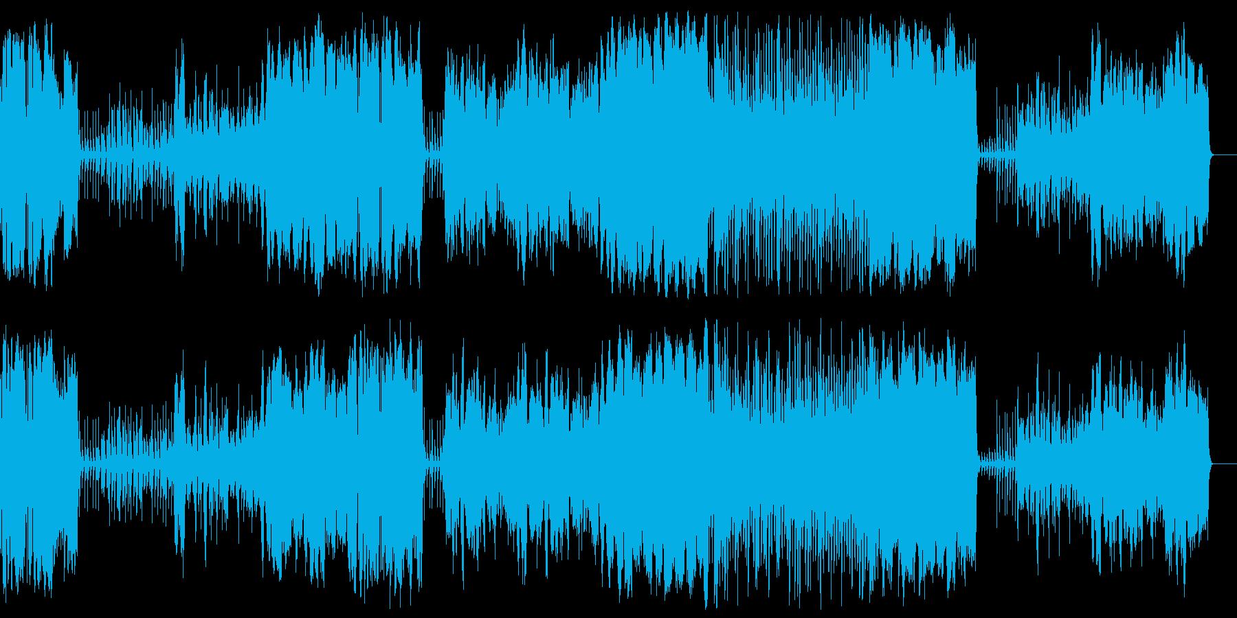 ブライダル 感動 オープニング 厳かの再生済みの波形
