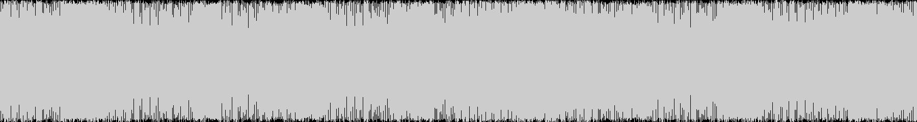 ゲーム用BGM 激しめのギターインストの未再生の波形