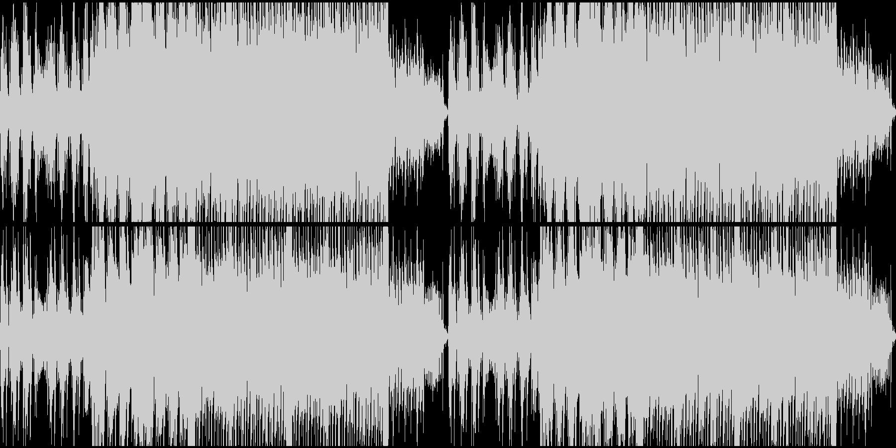 爽やかなピアノソロループの未再生の波形