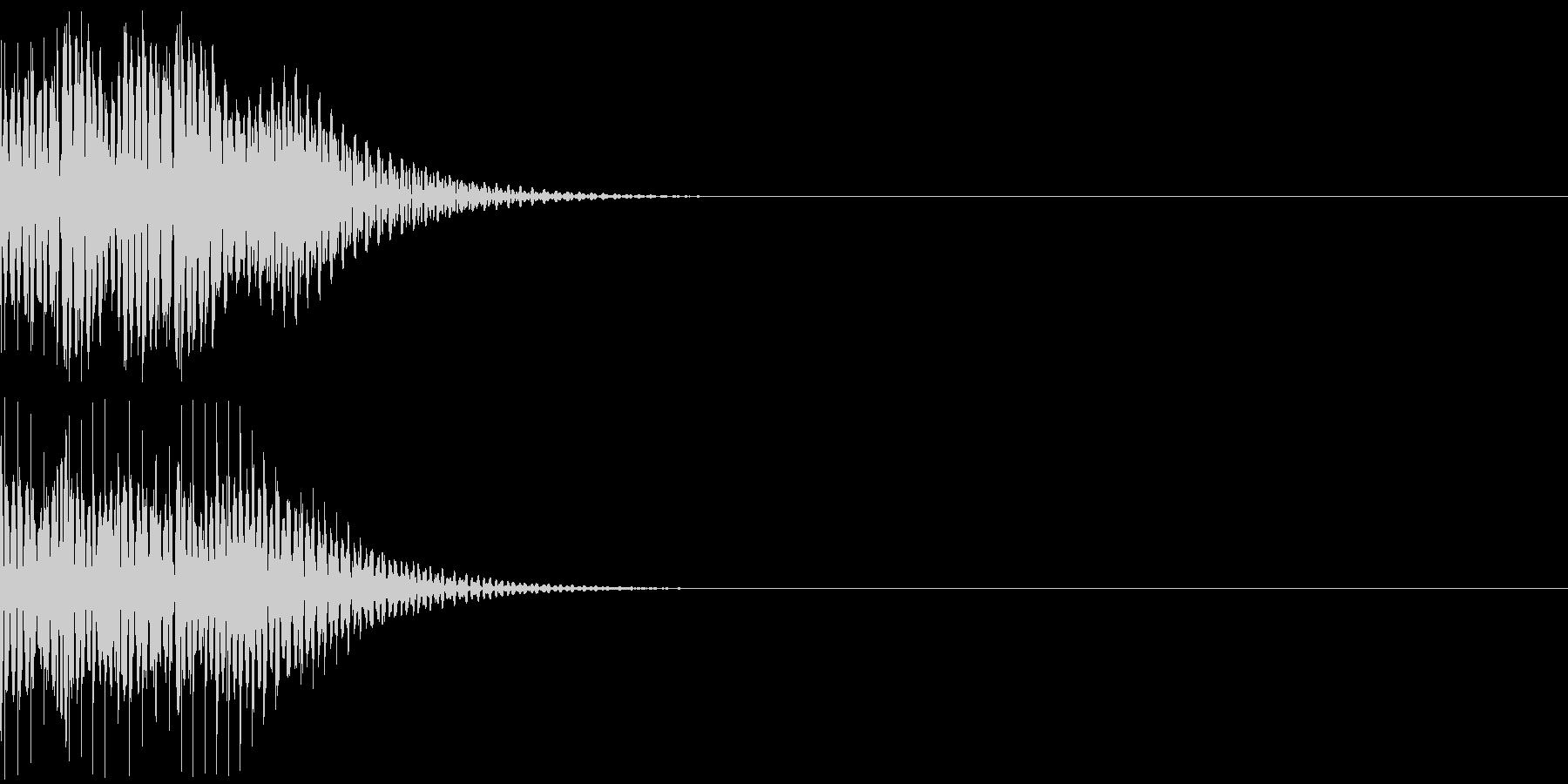 デロロンの未再生の波形