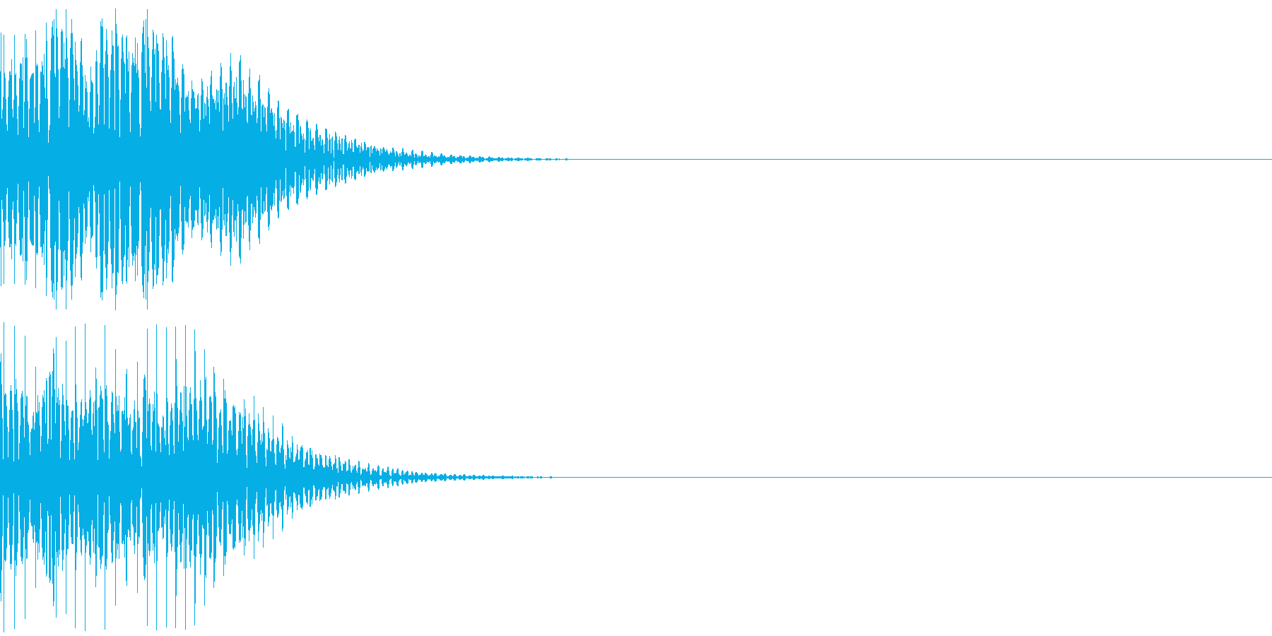 デロロンの再生済みの波形