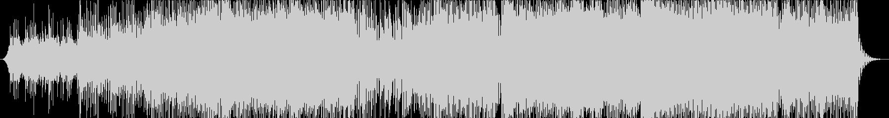 三味線ハウス-1、欧米から見た日本、夜の未再生の波形