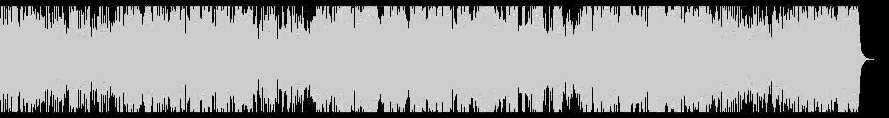 サックスのメロディがメインのジャズの未再生の波形