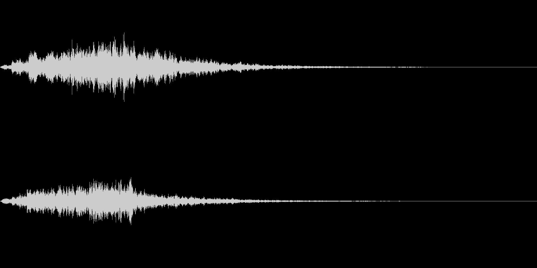 不思議な音01の未再生の波形