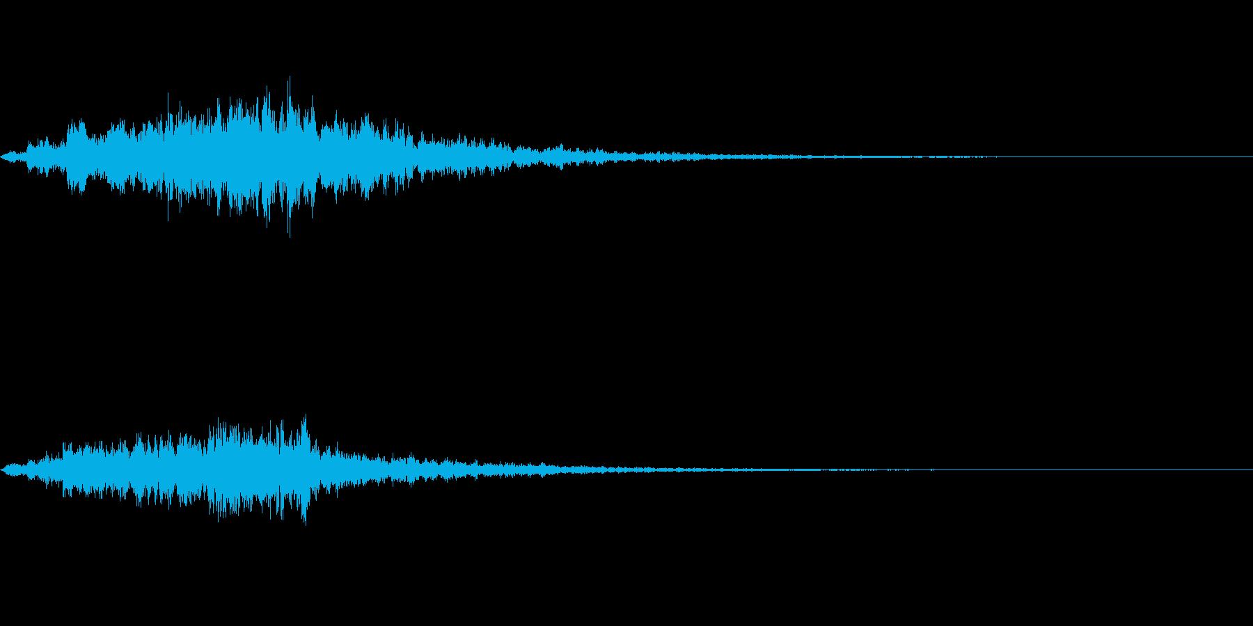 不思議な音01の再生済みの波形