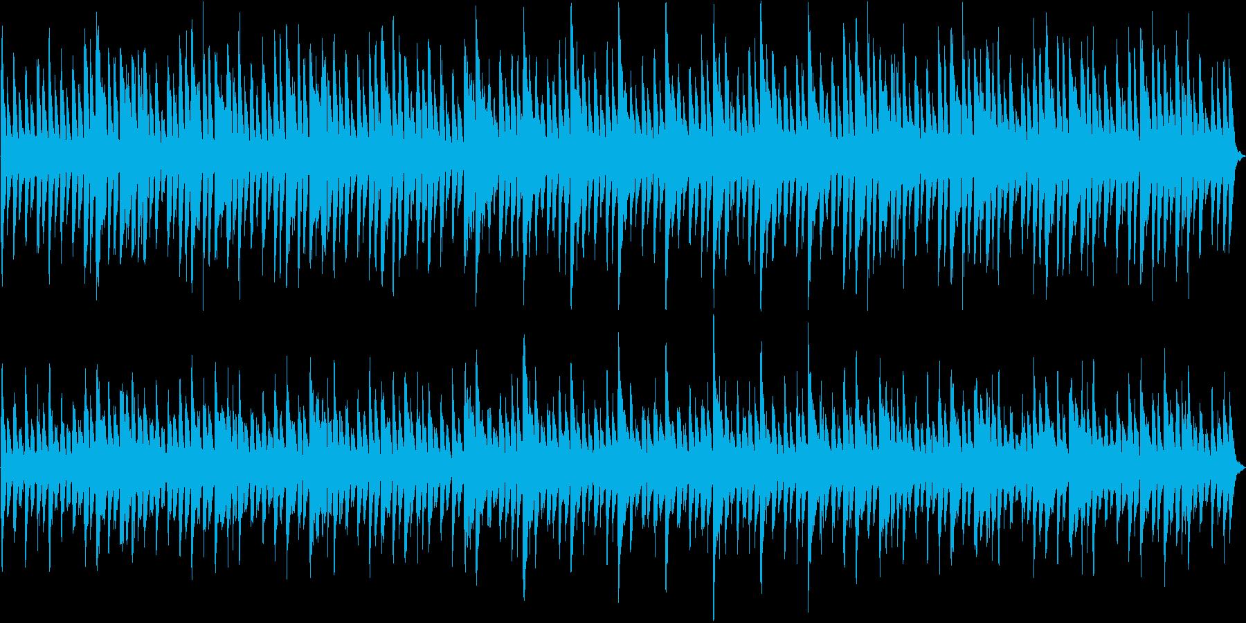 重厚なピアノを主体とした作戦会議BGMの再生済みの波形
