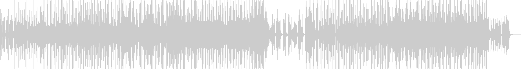 タイムラプス映像向けヒップホップの未再生の波形