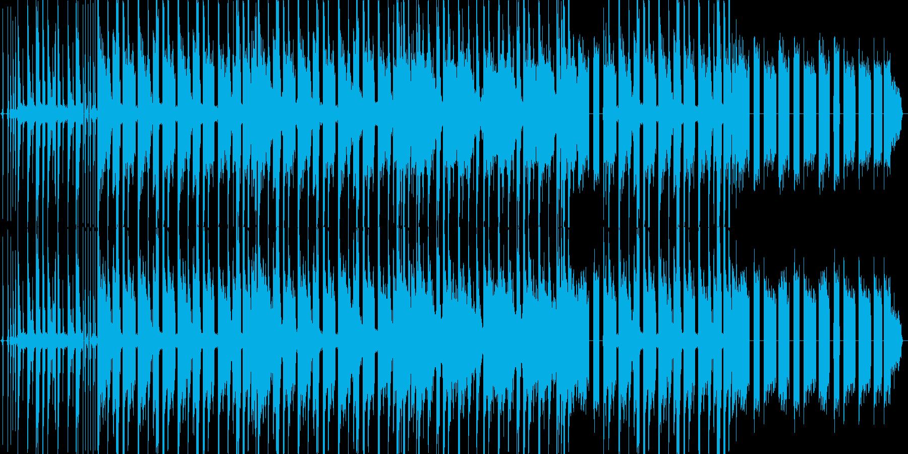 アングラで悪い感じのヒップホップトラックの再生済みの波形
