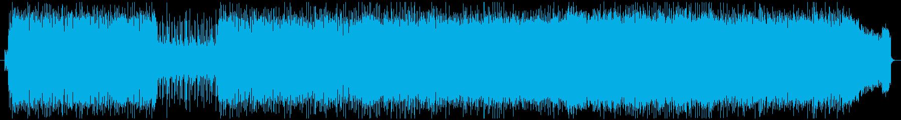 力強い疾走感あるロックサウンドの再生済みの波形