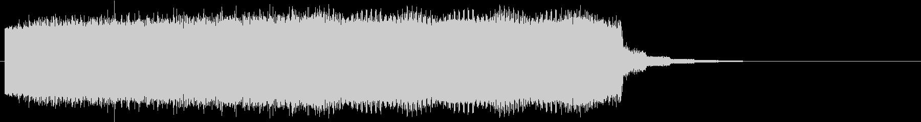 レトロなワープシーン、時をかける系の未再生の波形