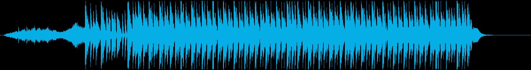 クイズの答えを考える間に流れそうなBGMの再生済みの波形