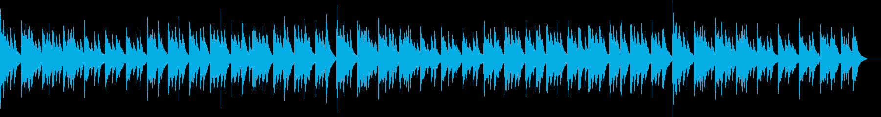 和風の情緒漂うピアノソロの再生済みの波形