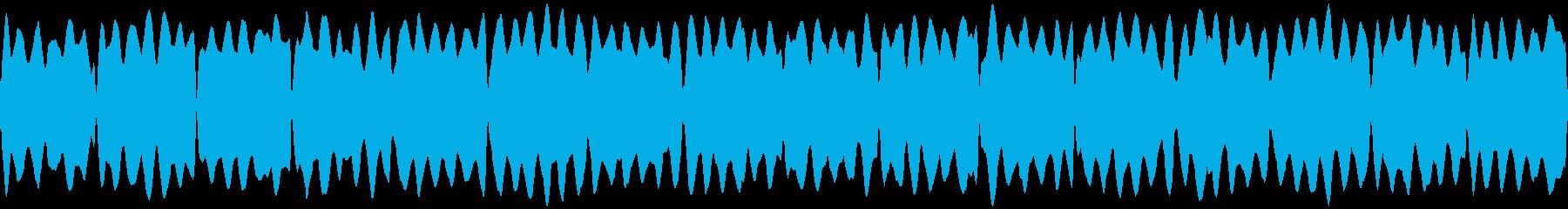 救急車サイレン(ピーポーピーポー)の再生済みの波形