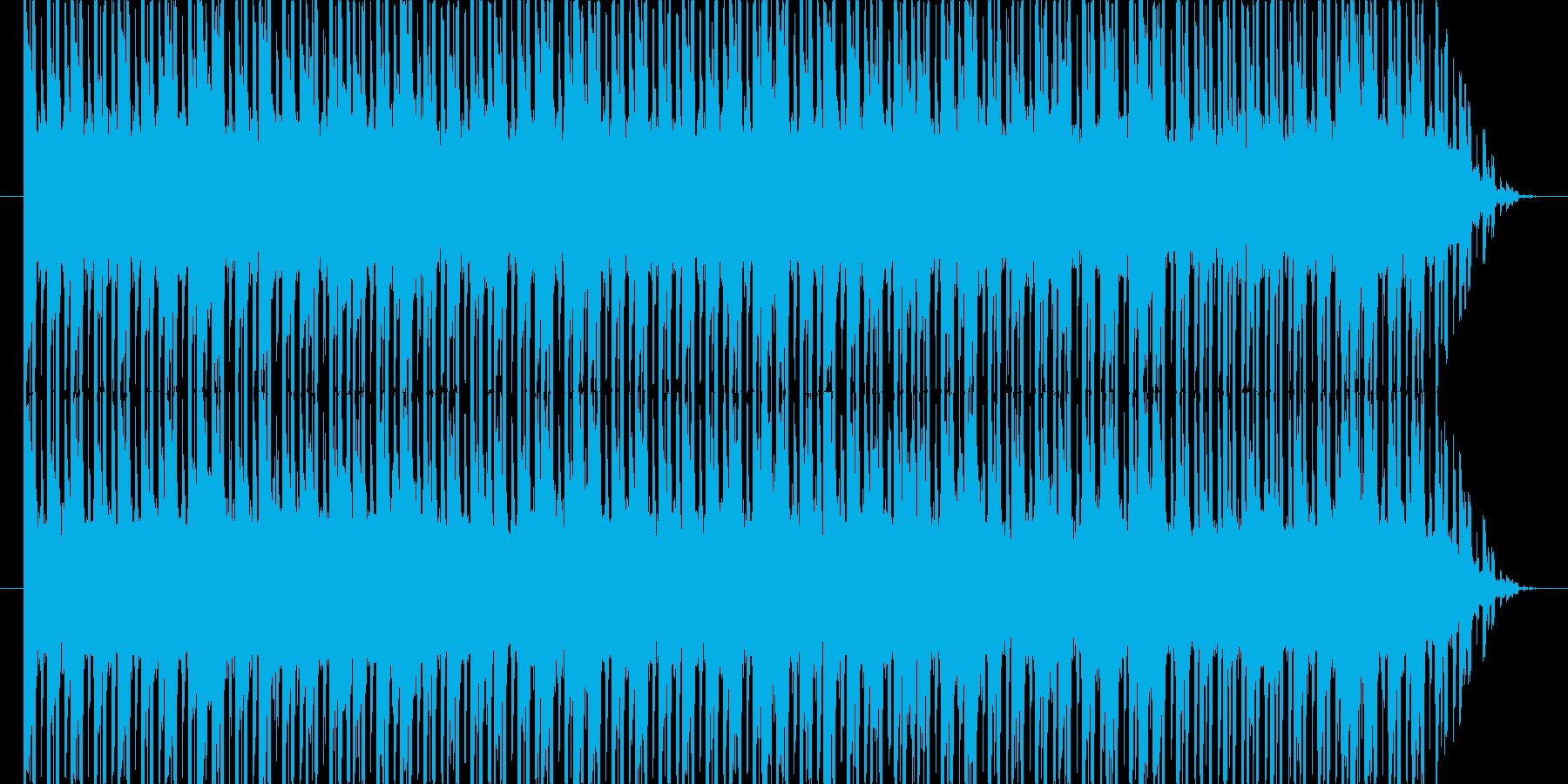 マニアックなコード進行で緊張感を演出の再生済みの波形