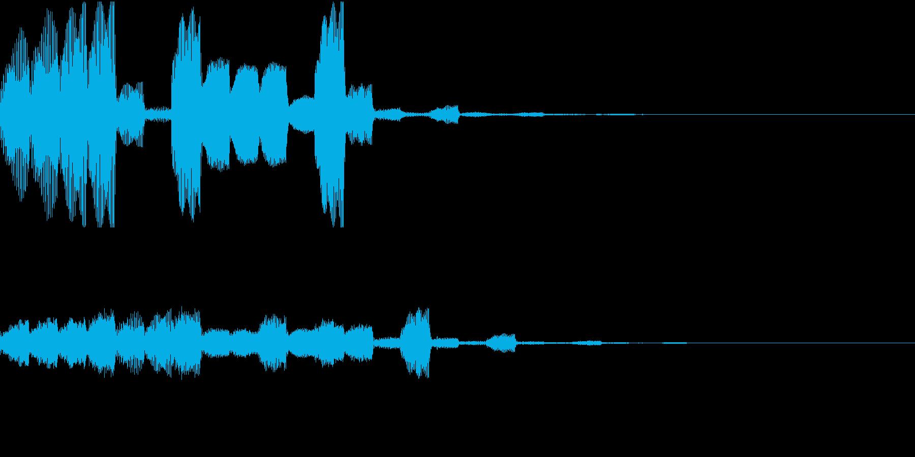 RPG 進化 特技 回復 魔法 キラキラの再生済みの波形