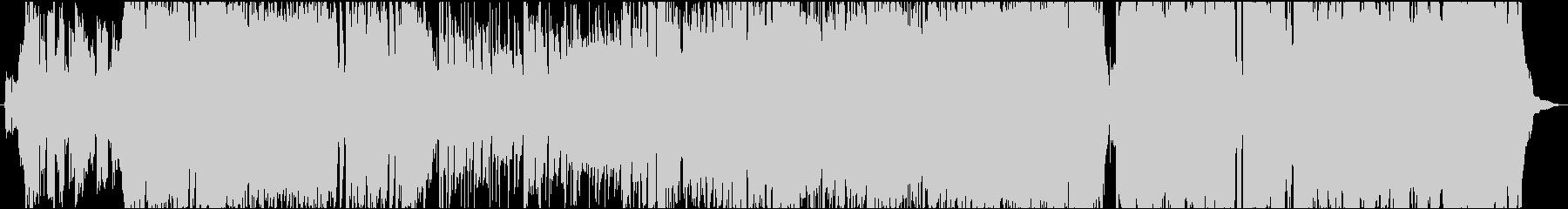 アニソン風アップテンポなマイナーポップスの未再生の波形