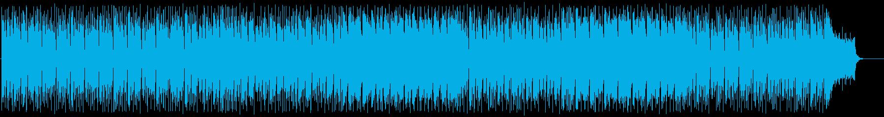 ワクワクする爽やかなBGMの再生済みの波形