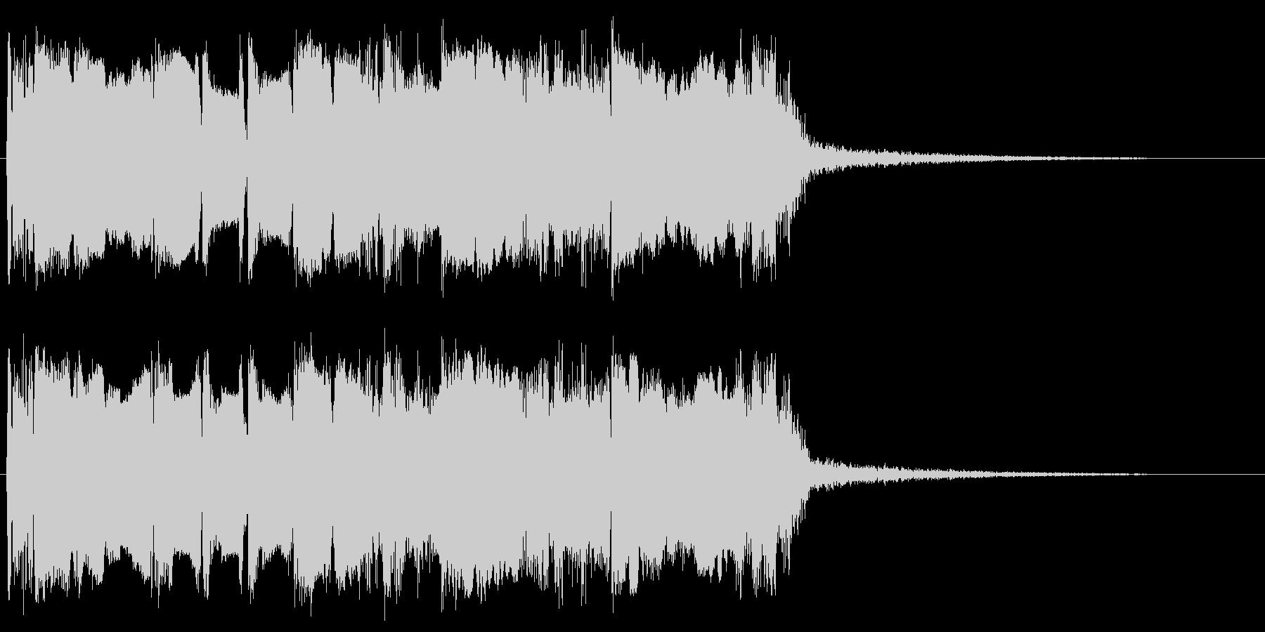 メタルなギターフレーズ メサブギサウンドの未再生の波形