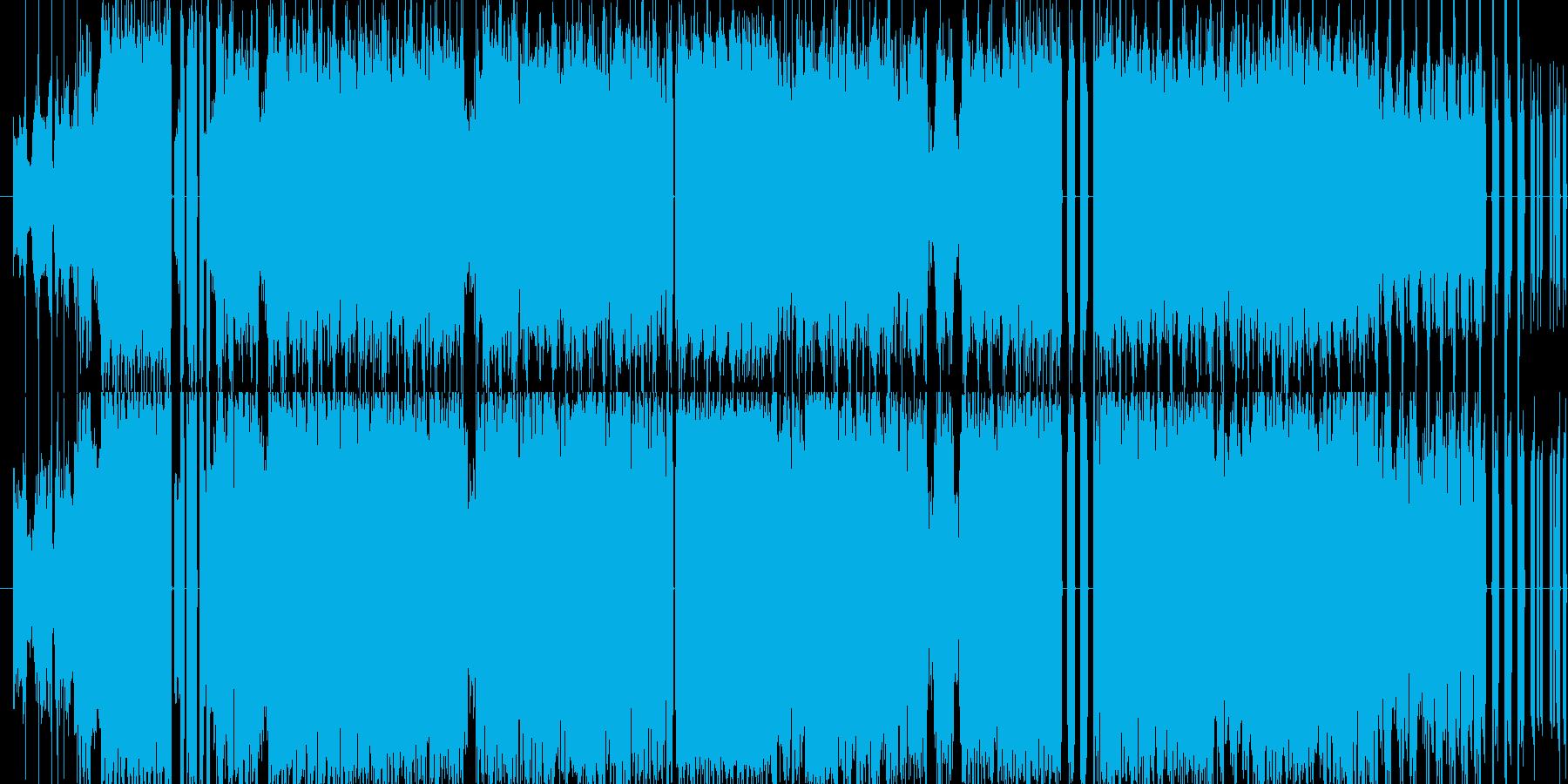 エレクトロハウス系の楽曲です。さまざま…の再生済みの波形