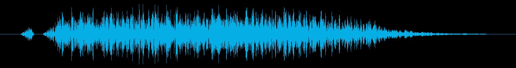 【打撃音13】パンチやキックに最適です!の再生済みの波形