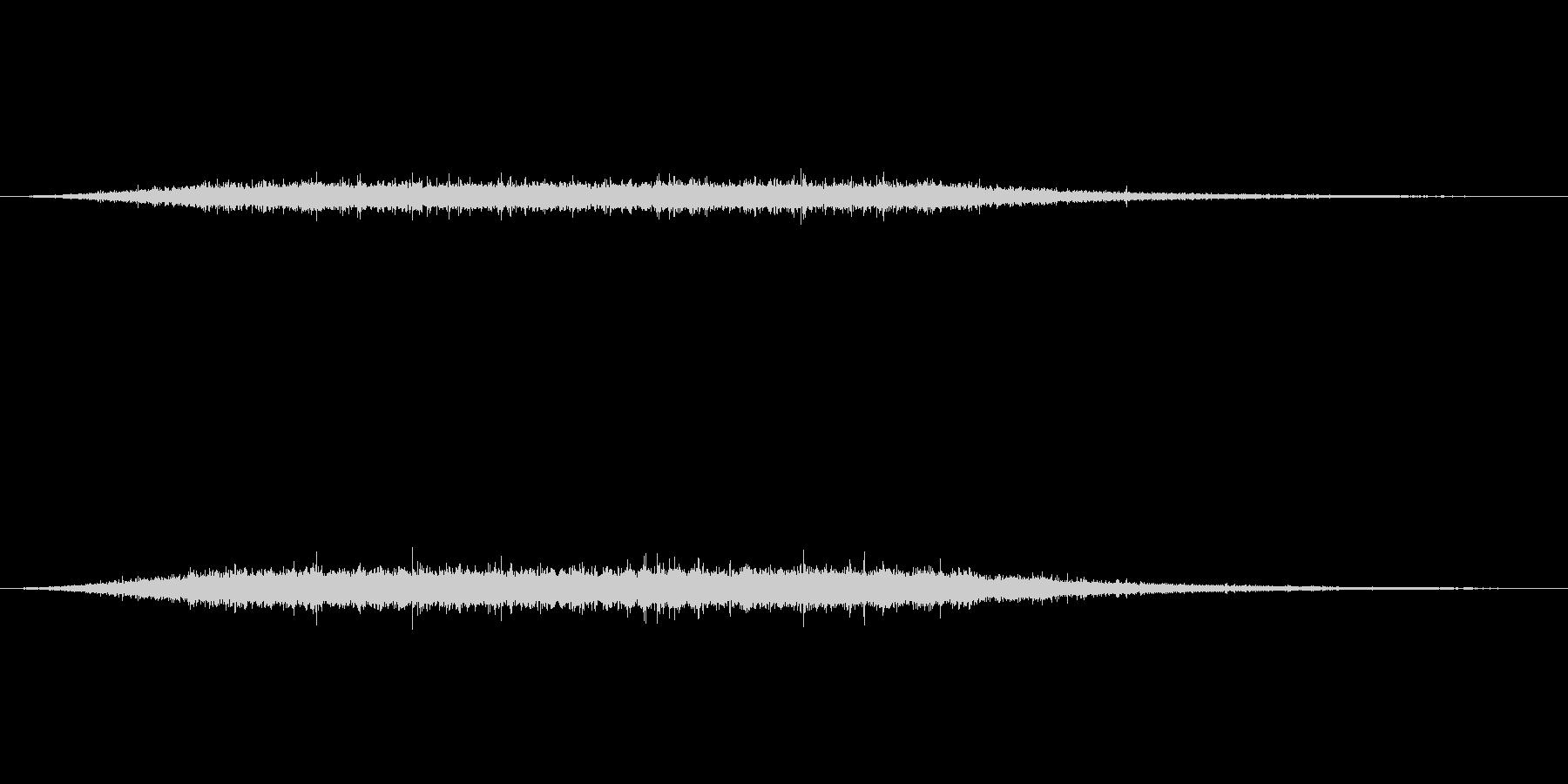 川の流れる音 の未再生の波形