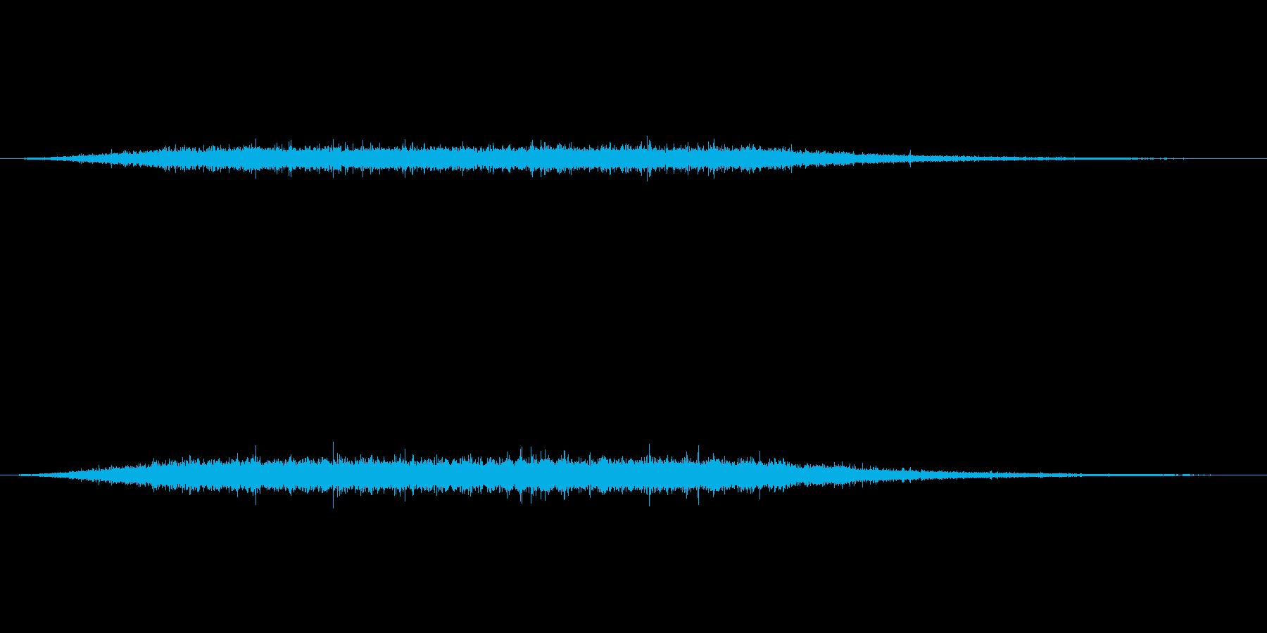 川の流れる音 の再生済みの波形