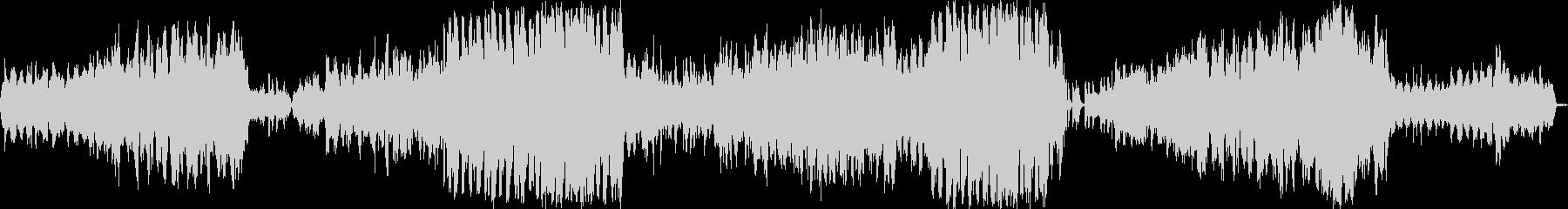 広大な美しい響きの感動的ストリングス音楽の未再生の波形