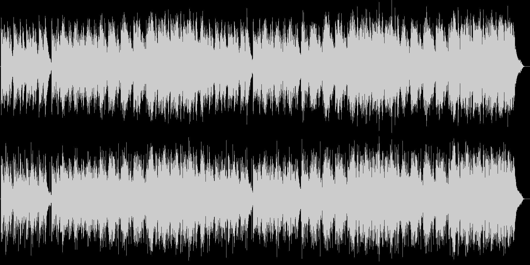 ゆったり優しいシンセサイザーサウンドの未再生の波形
