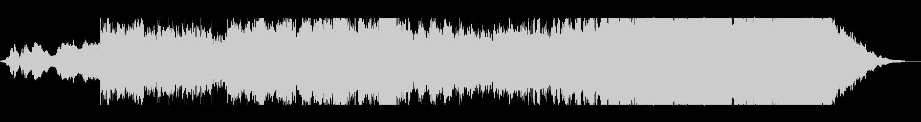 ファンタジーなシンセ管弦打楽器サウンドの未再生の波形