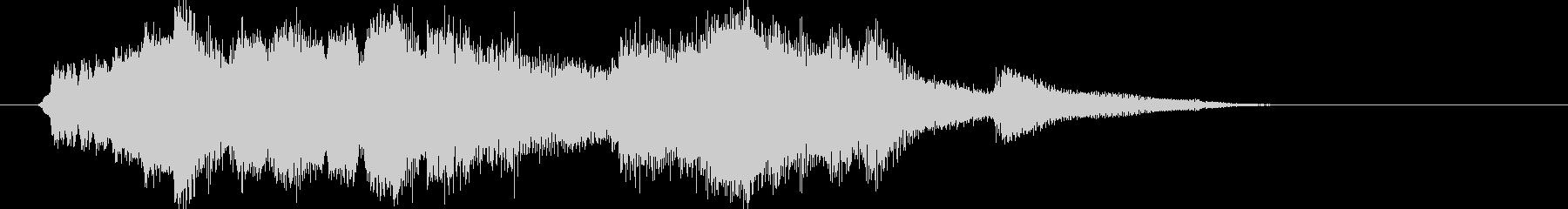 オシャレで上品な和風クラシック・15秒版の未再生の波形