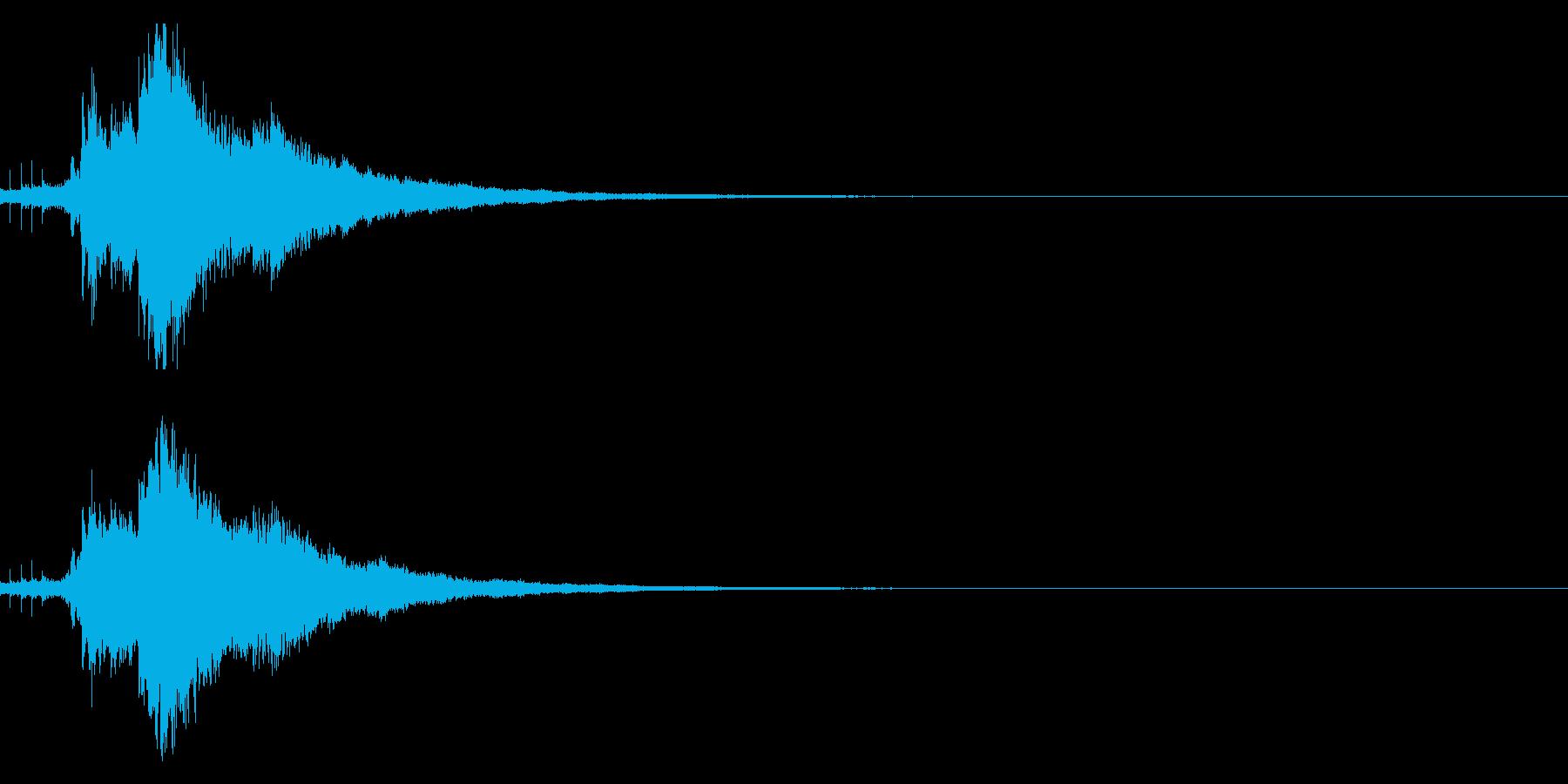 【キラキラ30】光や天使に最適な効果音!の再生済みの波形
