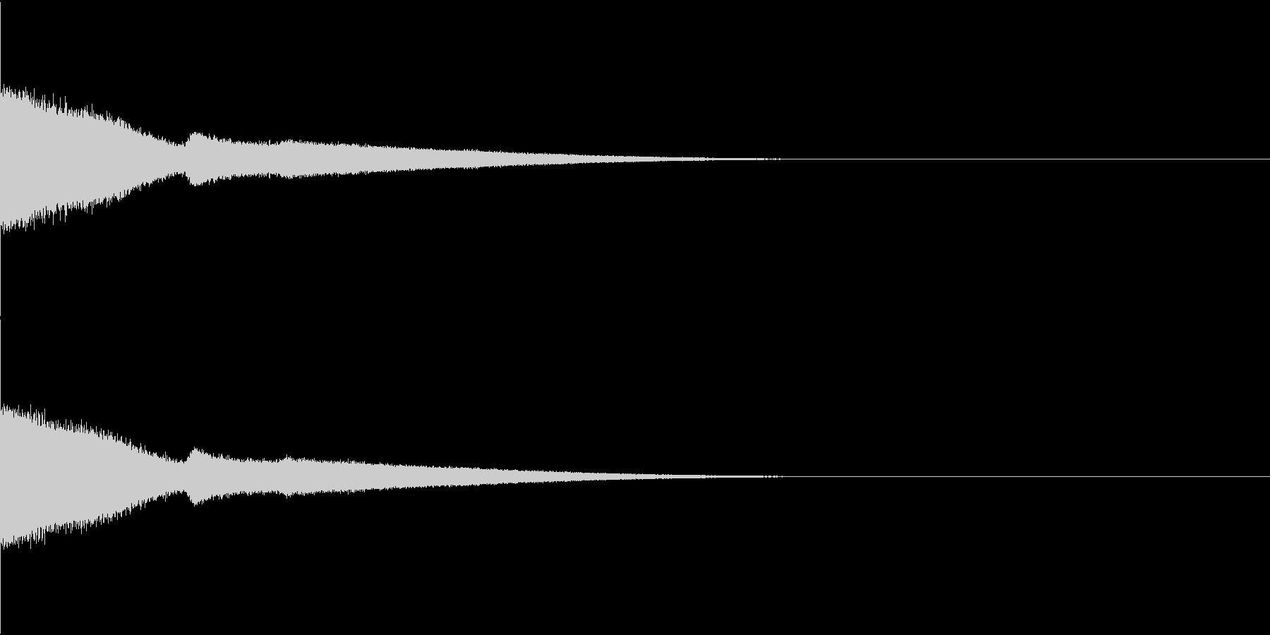 流星・流れ星・ピューン・サビ頭などの未再生の波形