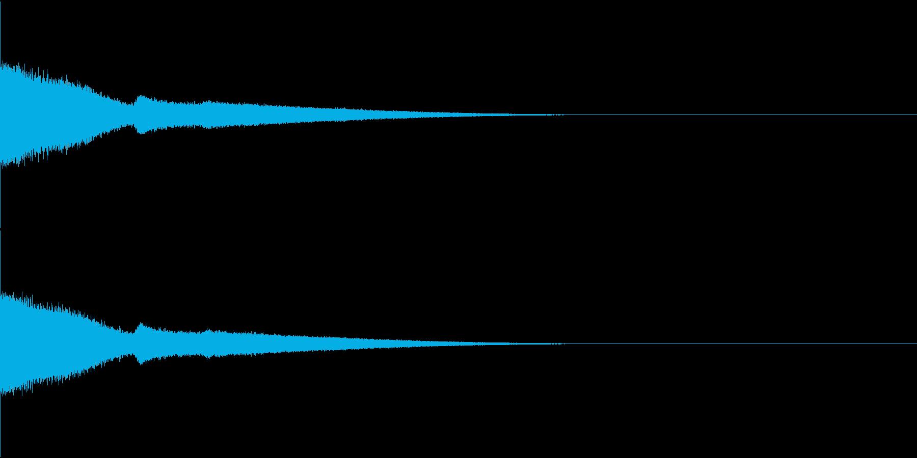 流星・流れ星・ピューン・サビ頭などの再生済みの波形