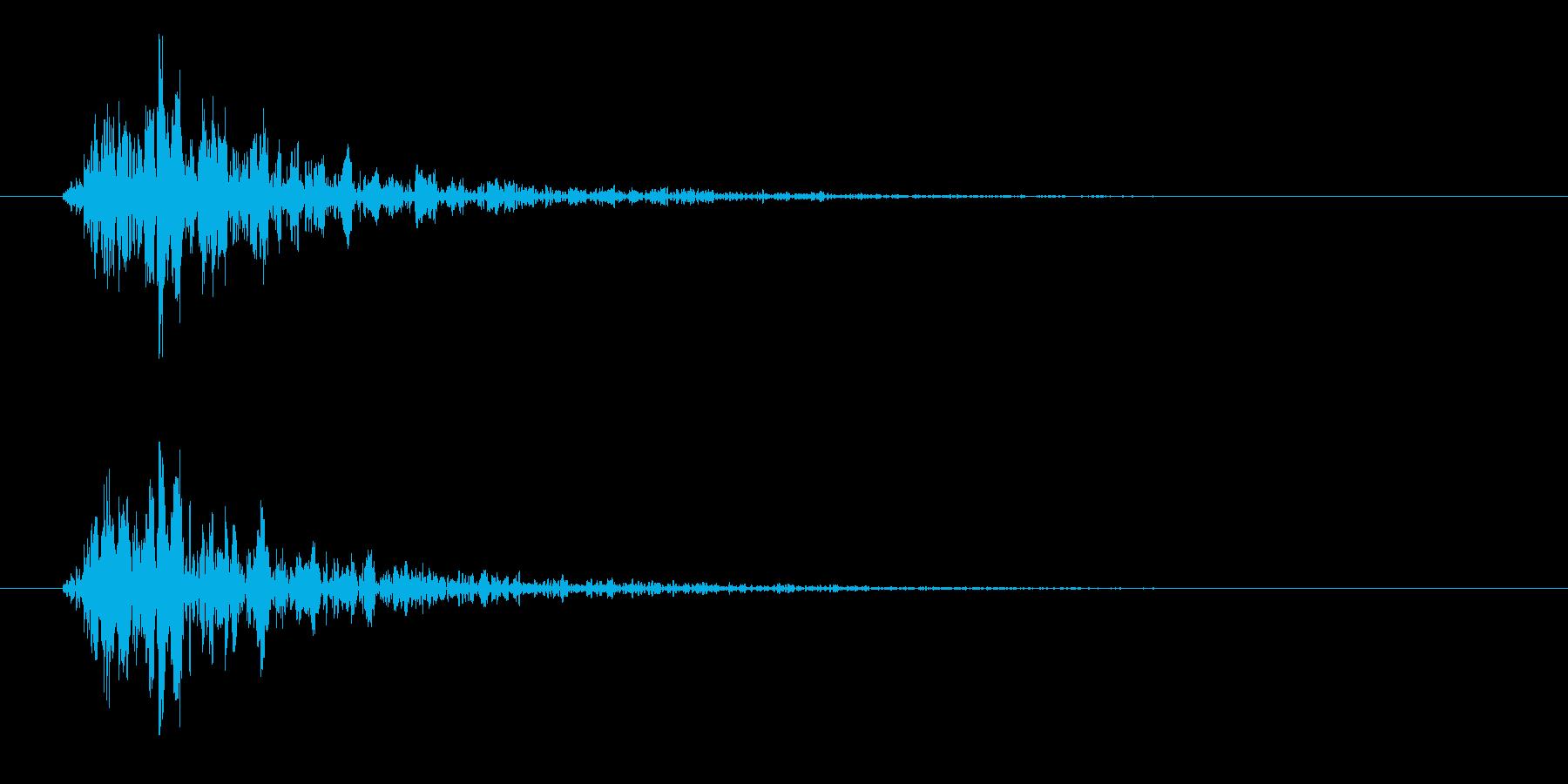 167_通り過ぎる1の再生済みの波形