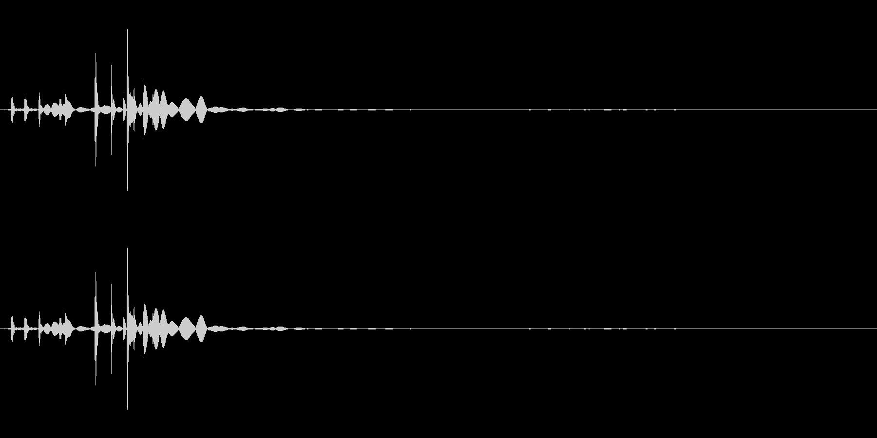 カランコロン09の未再生の波形