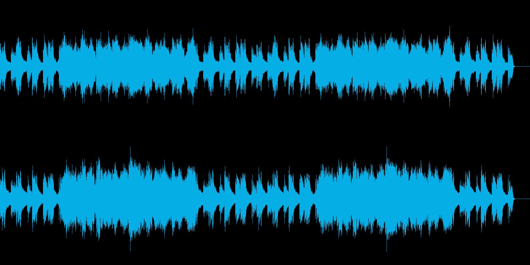爽やかな雰囲気のBGMですの再生済みの波形
