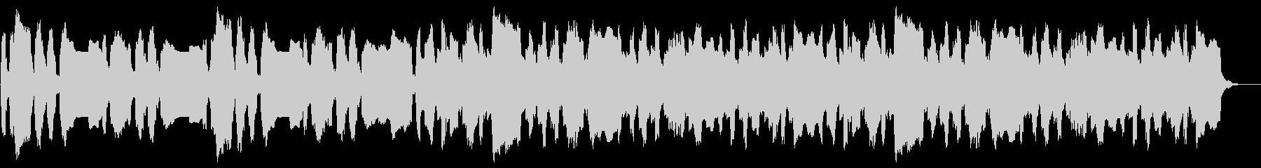 ほのぼの コミカルなBGM のどか 愉快の未再生の波形