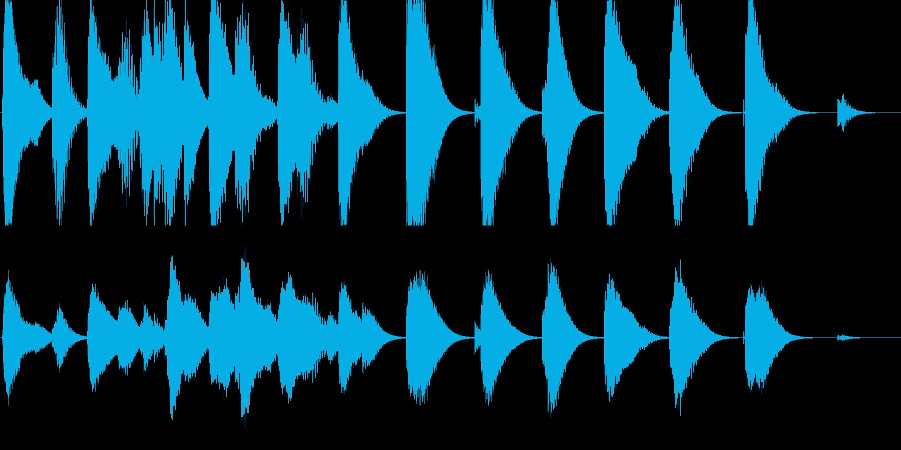 暗めの映画のシーン用に作りましたの再生済みの波形