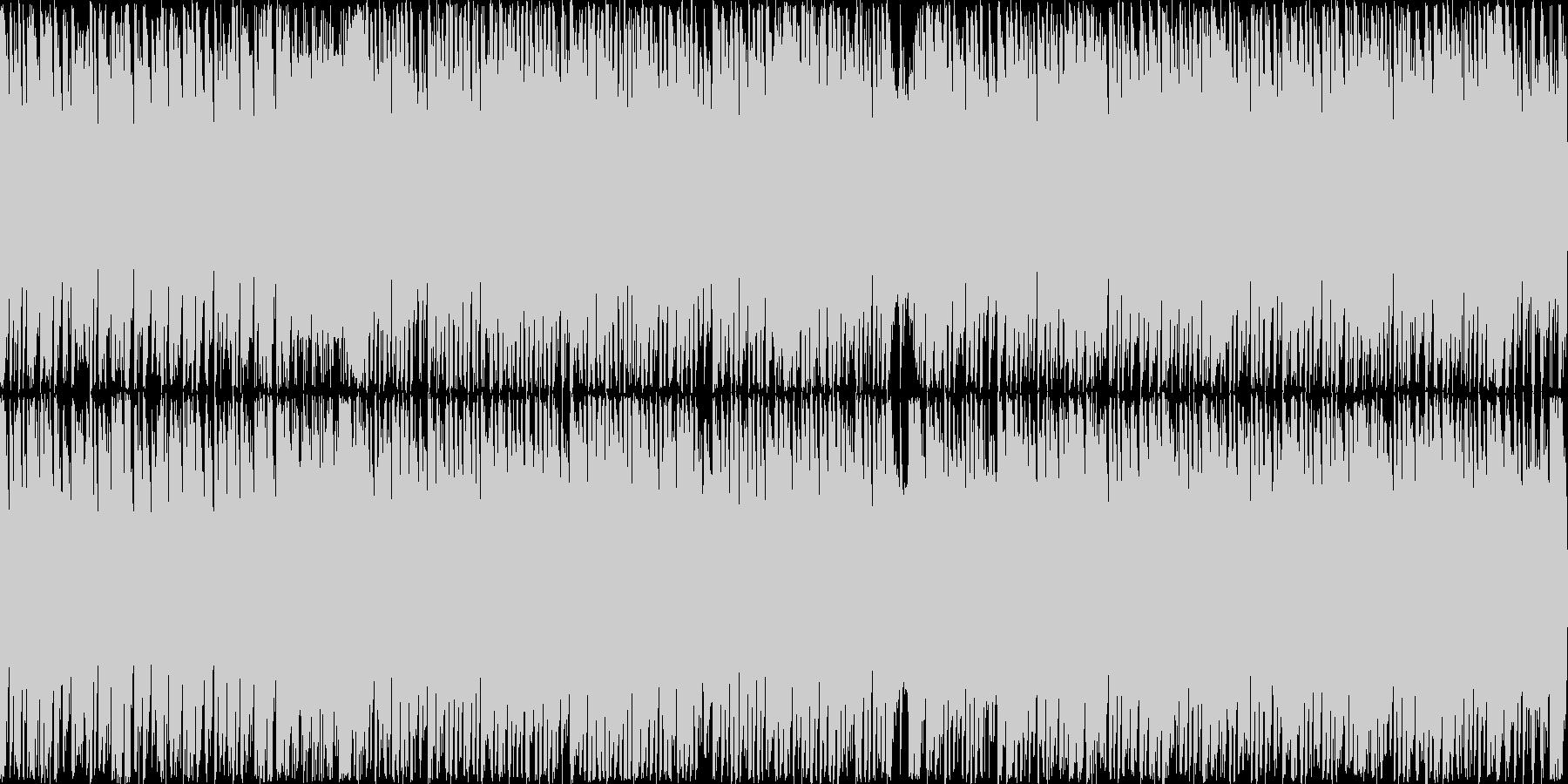 爽快で明るくハイテンションな曲 ループ可の未再生の波形