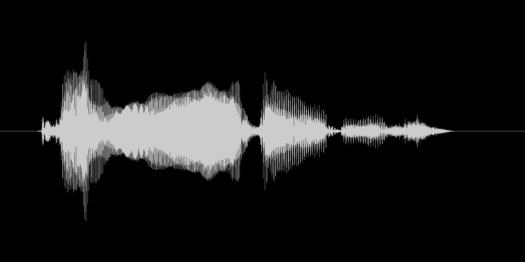 タイムオーバーですの未再生の波形