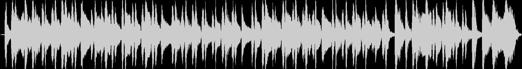 アコギのコミカルなブルースの未再生の波形