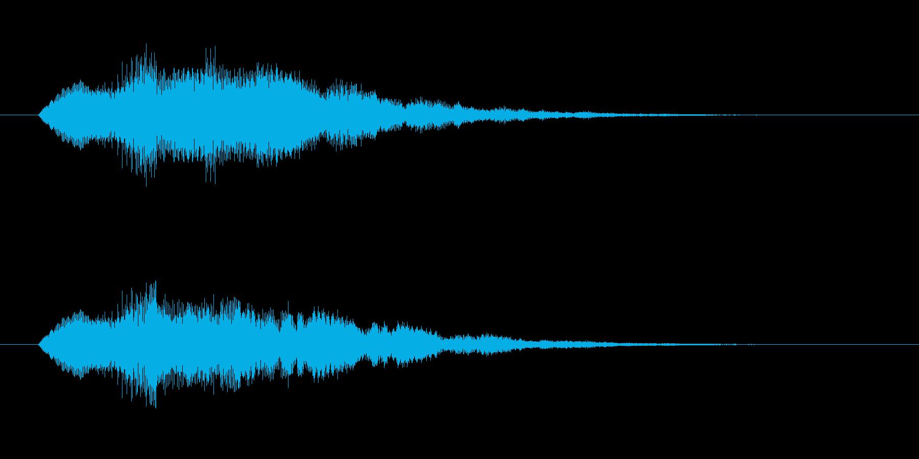 ティロりろの再生済みの波形
