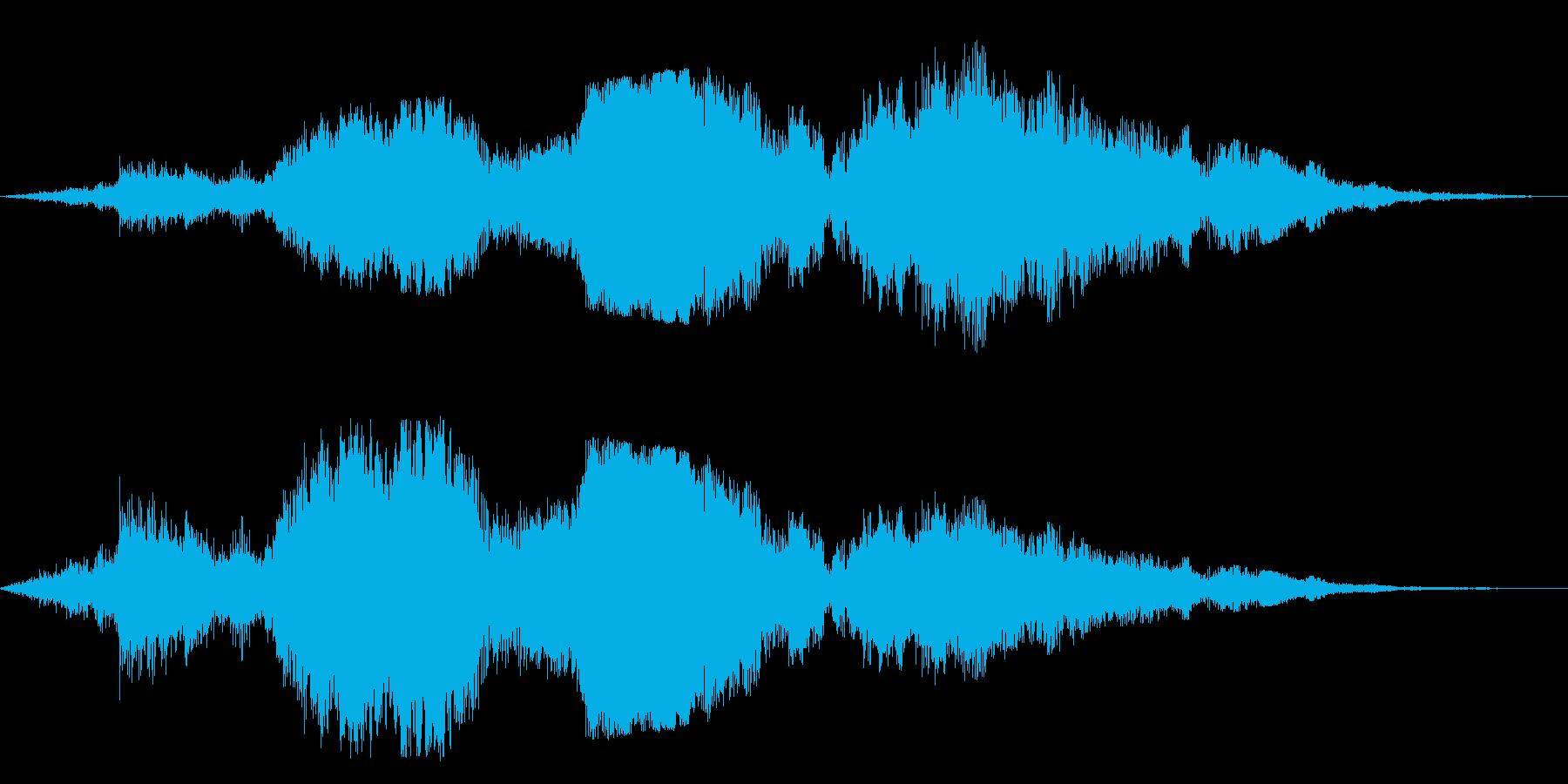 F1などのレース、エンジン音に最適40!の再生済みの波形