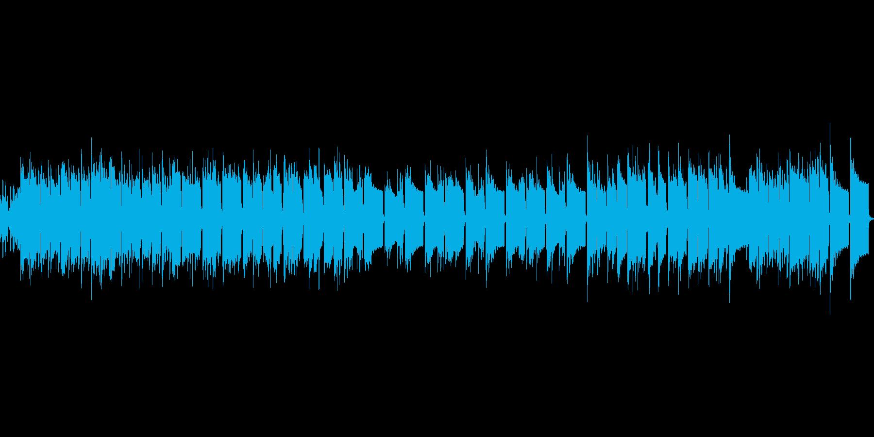 宝石箱をイメージしたオルゴール風の曲の再生済みの波形