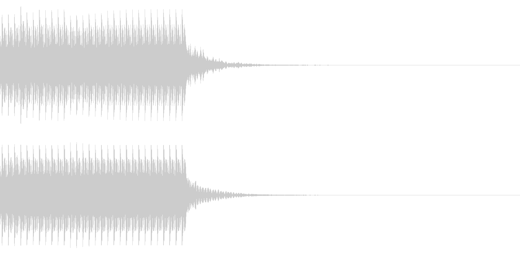 コイン30枚獲得 集計 スコア チャリンの未再生の波形