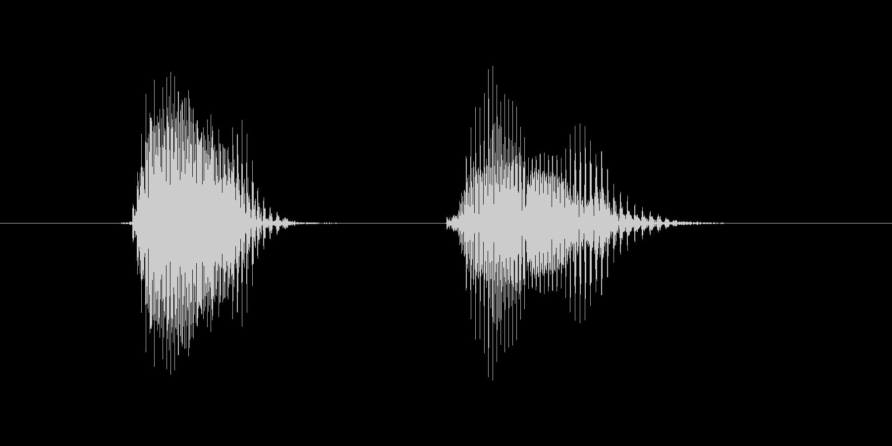 第五問の未再生の波形