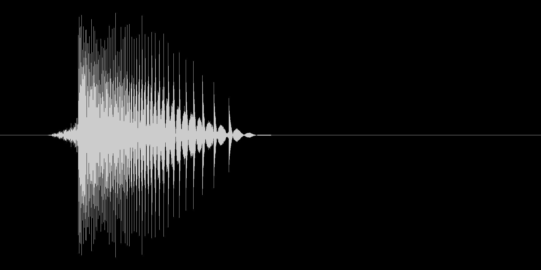 ゲーム(ファミコン風)レーザー音_039の未再生の波形