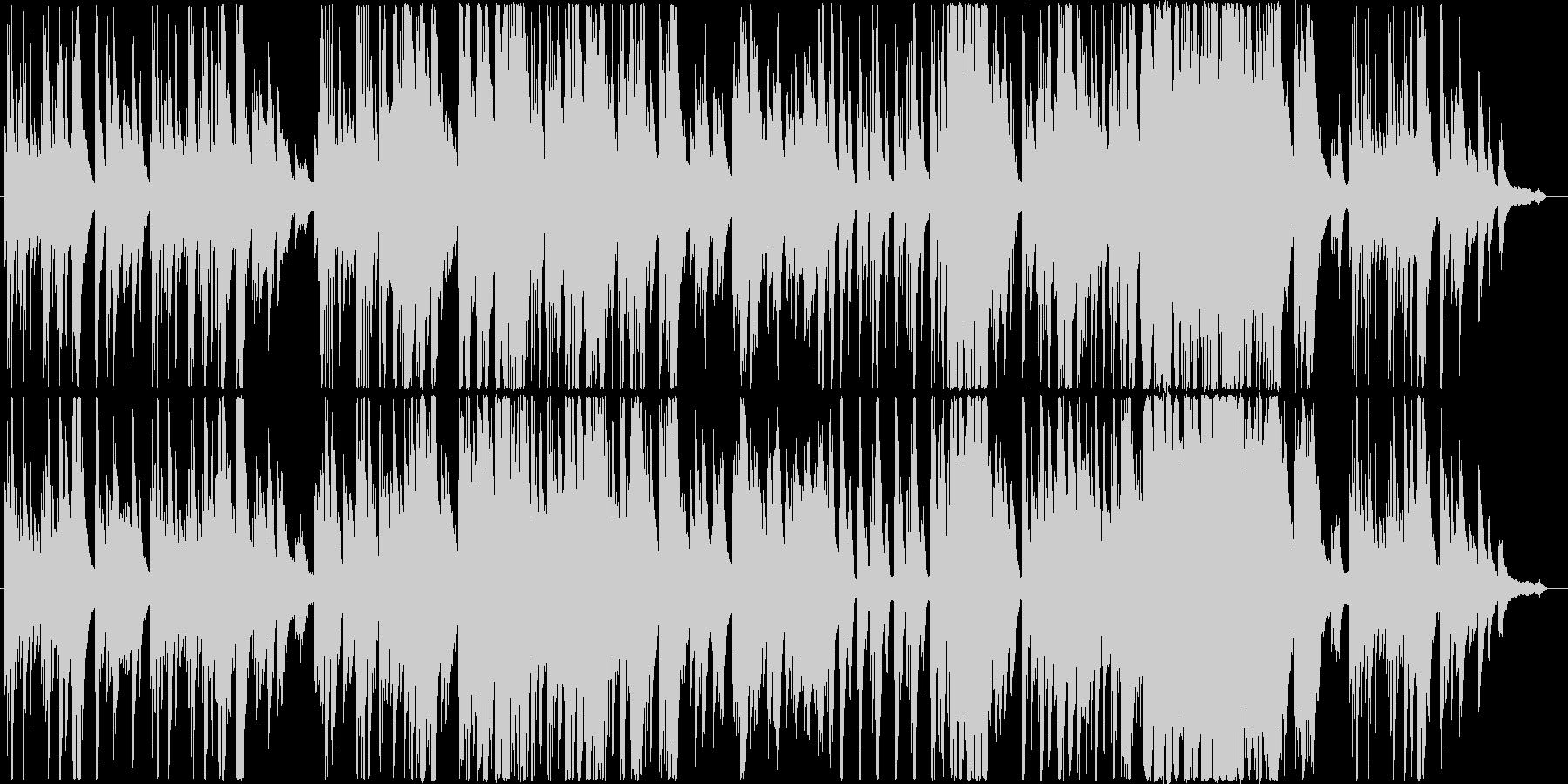 自然をテーマにした癒やし系のピアノ曲の未再生の波形