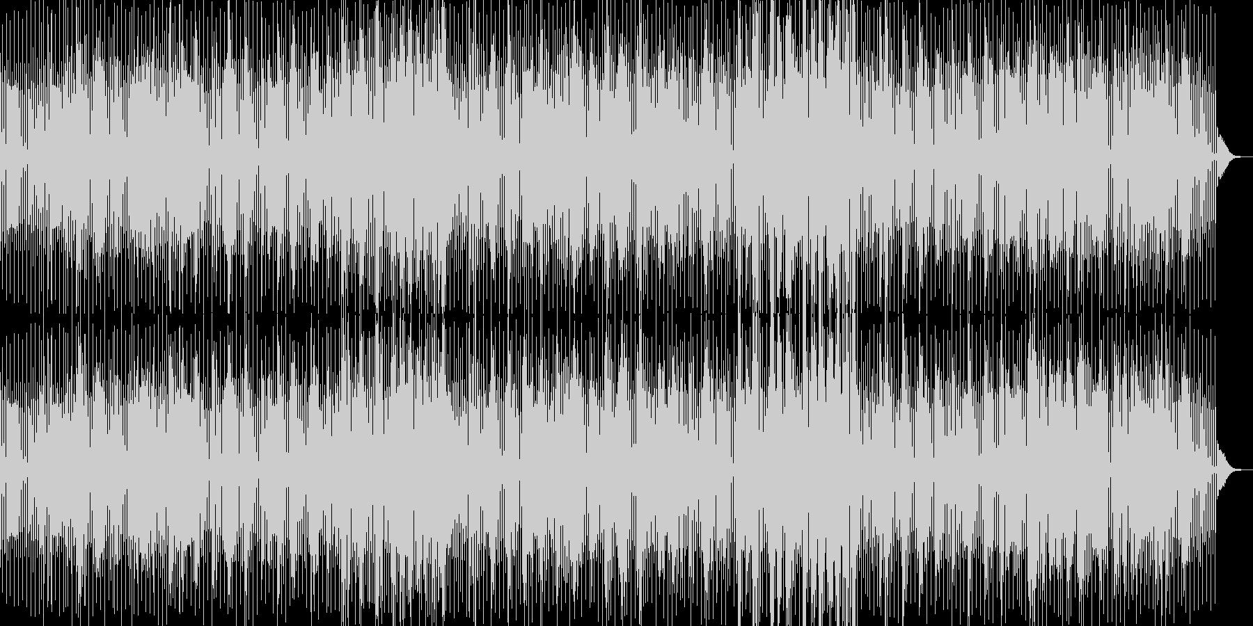 ピアノによるDeep Houseの未再生の波形